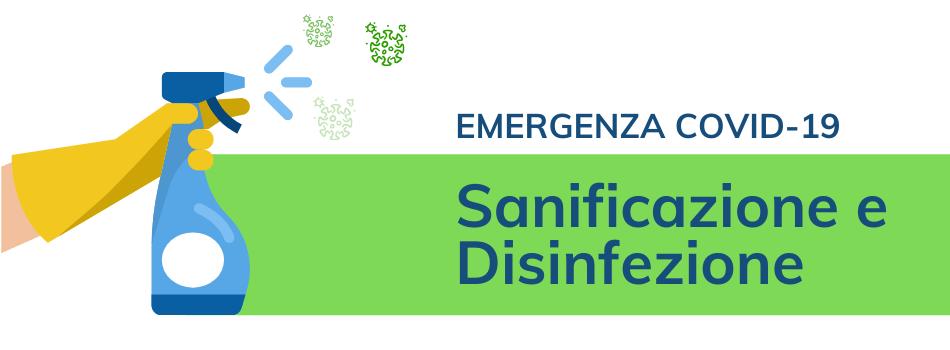 Servizio di Sanificazione e disinfezione